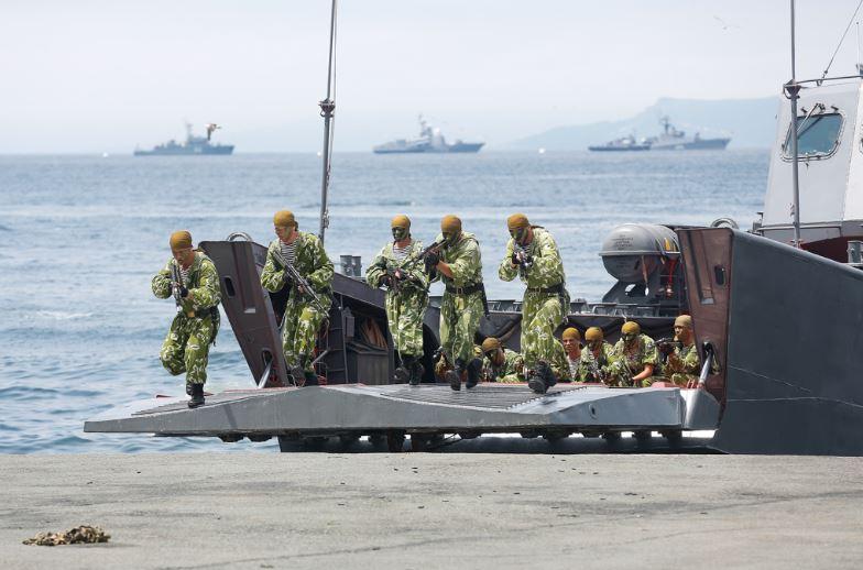 Мероприятие на День Военно-Морского Флота